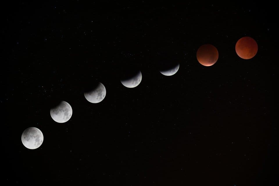 Image illustrant le cycle lunaire. | Source : Shutterstock