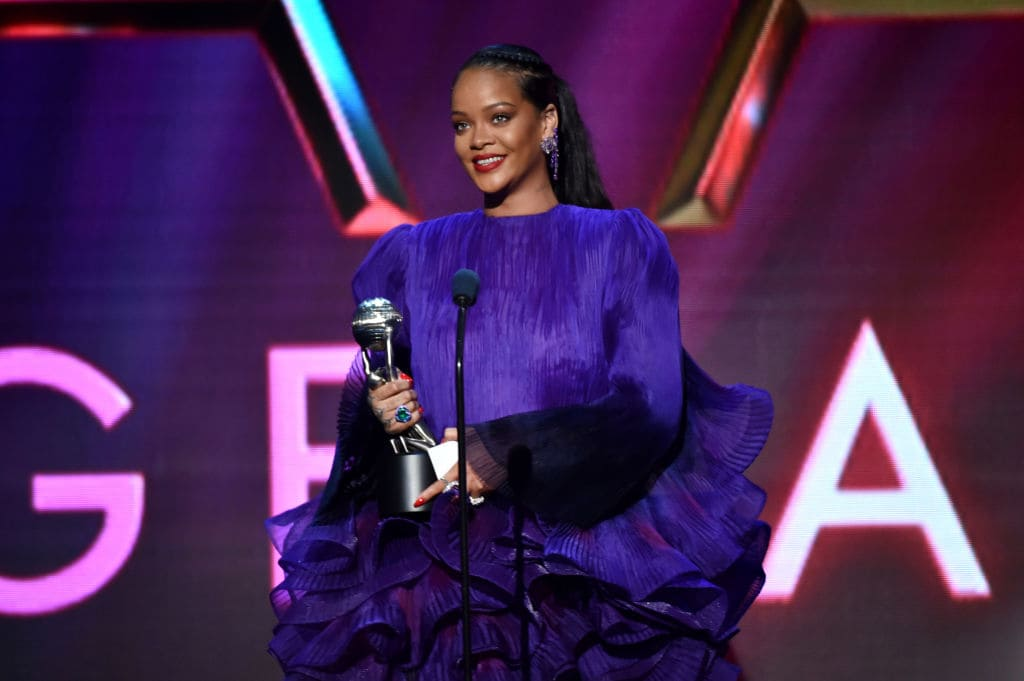 Rihanna accepte le President's Award
