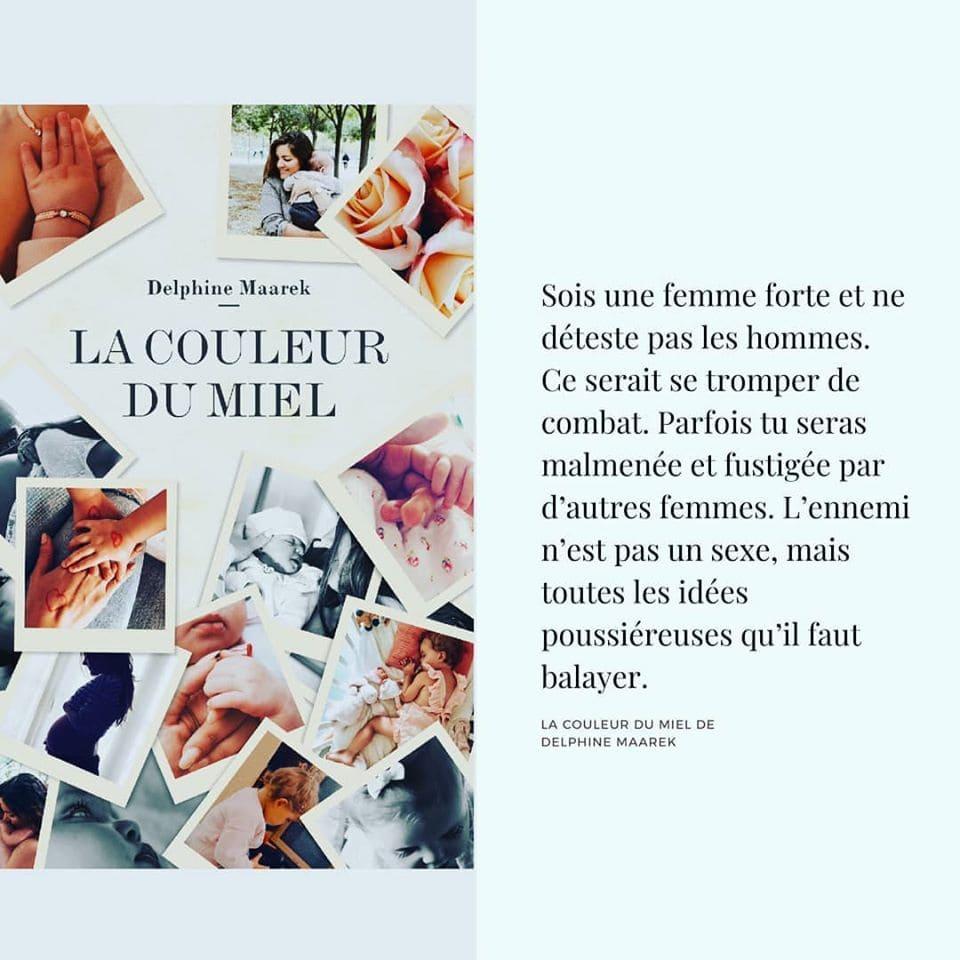 """Nouveau roman """"La couleur du miel"""".   Source : Les univers parallèles de Millina"""