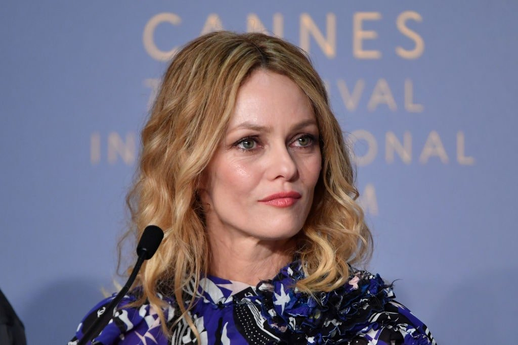 "Vanessa Paradis assiste à ""Knife + Heart . 