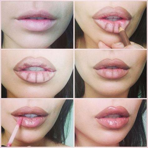 Une femme utilisant un crayon à lèvre. | Photo : Unsplash
